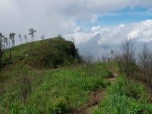 Penhasco em Phu Soi Dao National Park Imagens de Stock