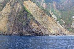 Penhasco litoral, adôbe rgb foto de stock royalty free