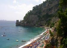 Penhascos da praia Fotografia de Stock Royalty Free