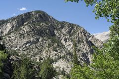 Penhascos de giz de Colorado imagem de stock