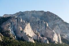 Penhascos de giz de Mt Princeton Colorado imagens de stock