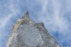 Penhascos de giz do klint de Moens imagens de stock royalty free