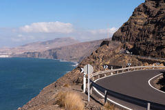 Penhascos de Gran Canaria imagem de stock