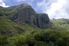 Penhascos de Havaí foto de stock