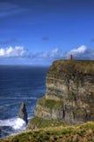 Penhascos de Moher, Ireland. Imagem de Stock