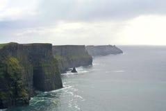 Penhascos de Moher, Ireland Foto de Stock Royalty Free