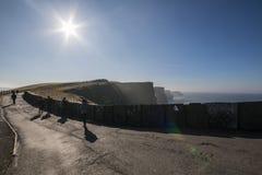 Penhascos de Moher - Ireland Foto de Stock Royalty Free