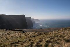 Penhascos de Moher - Ireland Imagens de Stock