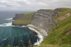 Penhascos de Moher, Ireland Fotos de Stock Royalty Free