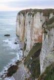 Penhascos de Normandy fotografia de stock royalty free