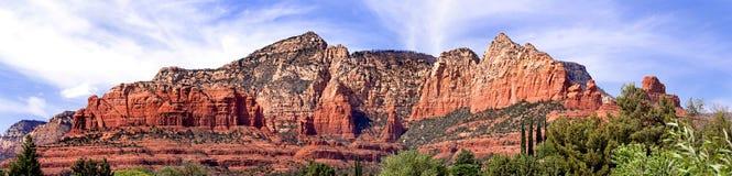 Penhascos de Sedona, o Arizona, EUA Imagens de Stock Royalty Free