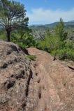 Penhascos de Siurana nas montanhas de Prades Fotografia de Stock Royalty Free