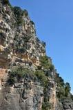 Penhascos de Siurana nas montanhas de Prades Imagens de Stock Royalty Free