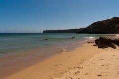 Penhascos do Algarve em Portugal Foto de Stock