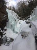 Penhascos do gelo Fotos de Stock Royalty Free