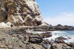 Penhascos do mar Foto de Stock