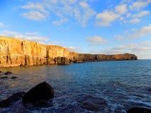 Penhascos do mar Imagem de Stock Royalty Free