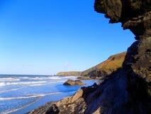 Penhascos do mar Fotografia de Stock Royalty Free