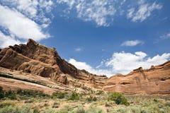Penhascos do parque nacional dos arcos Fotos de Stock