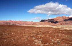 Penhascos Garganta-Vermilion região selvagem de Paria, Utá, EUA Imagem de Stock