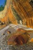Penhascos manchados mineral Imagens de Stock Royalty Free