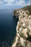 Penhascos - ponto sul de Malta Imagens de Stock