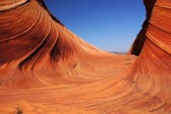 Penhascos região selvagem dos Garganta-vermelhões de Paria, o Arizona, EUA Foto de Stock