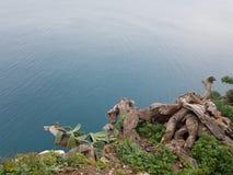 Penhascos sobre o mar fotografia de stock royalty free
