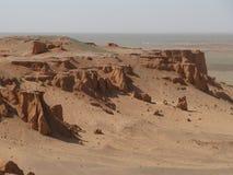Penhascos vermelhos da areia imagens de stock