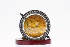 Penholder com globo Fotos de Stock Royalty Free