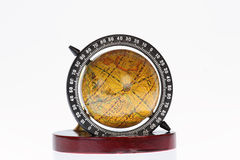 Penholder with globe Royalty Free Stock Photos