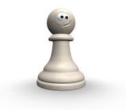 Penhor engraçado da xadrez Imagens de Stock Royalty Free