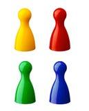 Penhores coloridos Foto de Stock Royalty Free