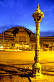 penhphnom för central marknad Arkivfoto