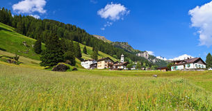 Penia - Fassa Valley Stock Photo