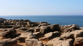 Peniche γύρω - Πορτογαλία Στοκ φωτογραφίες με δικαίωμα ελεύθερης χρήσης