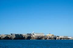 Peniche -葡萄牙的福特莱萨 免版税图库摄影
