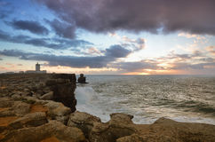 Peniche, Cabo Carvoeiro, Portugal Stock Photos