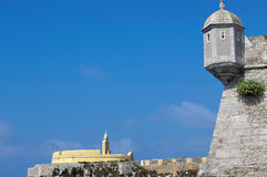 Peniche Citadel in Portugal Stock Photography
