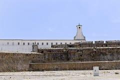 Peniche forteca w Peniche Portugalia Fotografia Stock
