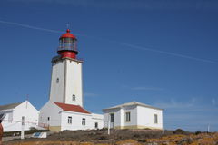Peniche lighthouse, Portugal Stock Image