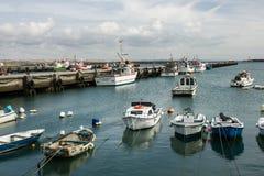 Peniche, Portugal: fishing port Stock Image