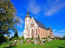 Penig church Stock Image