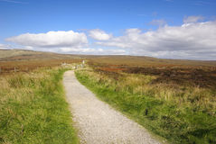 Penine Way in Peak District Stock Images