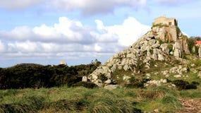 Peninha在岩石修造的辛特拉 免版税库存图片