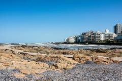 Peninsula area of Punta del Este, Uruguay. Peninsula area of resort town Punta del Este on the Atlantic Ocean Cost, Maldonado, Uruguay Stock Images
