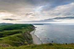 Peninsula Balyuzek Sea of Japan. Stock Images
