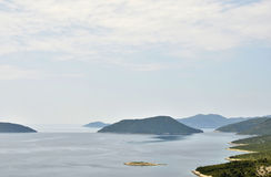 A peninsula in the coast of Croatia Royalty Free Stock Photo
