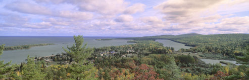 Peninsula and Copper Harbor Royalty Free Stock Image