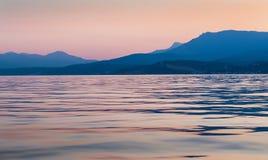 Peninsula of Crimea coastline Royalty Free Stock Image